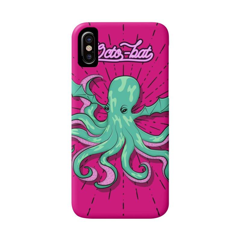 Octobat Accessories Phone Case by Moon Bear Design Studio's Artist Shop