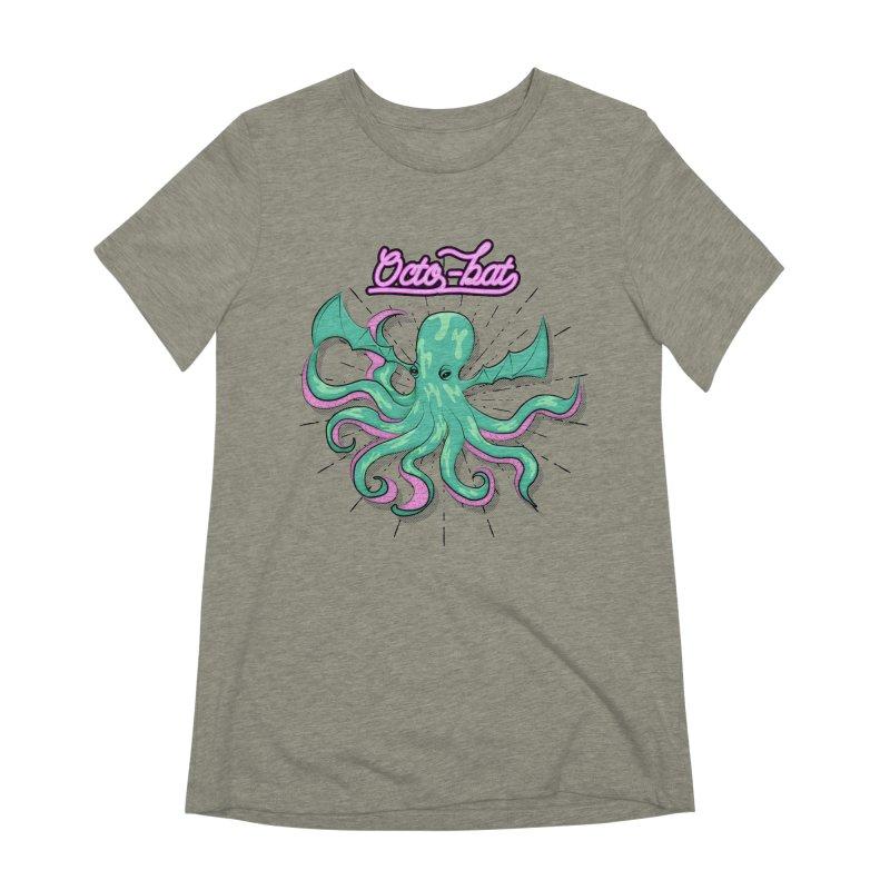 Octobat Women's Extra Soft T-Shirt by Moon Bear Design Studio's Artist Shop