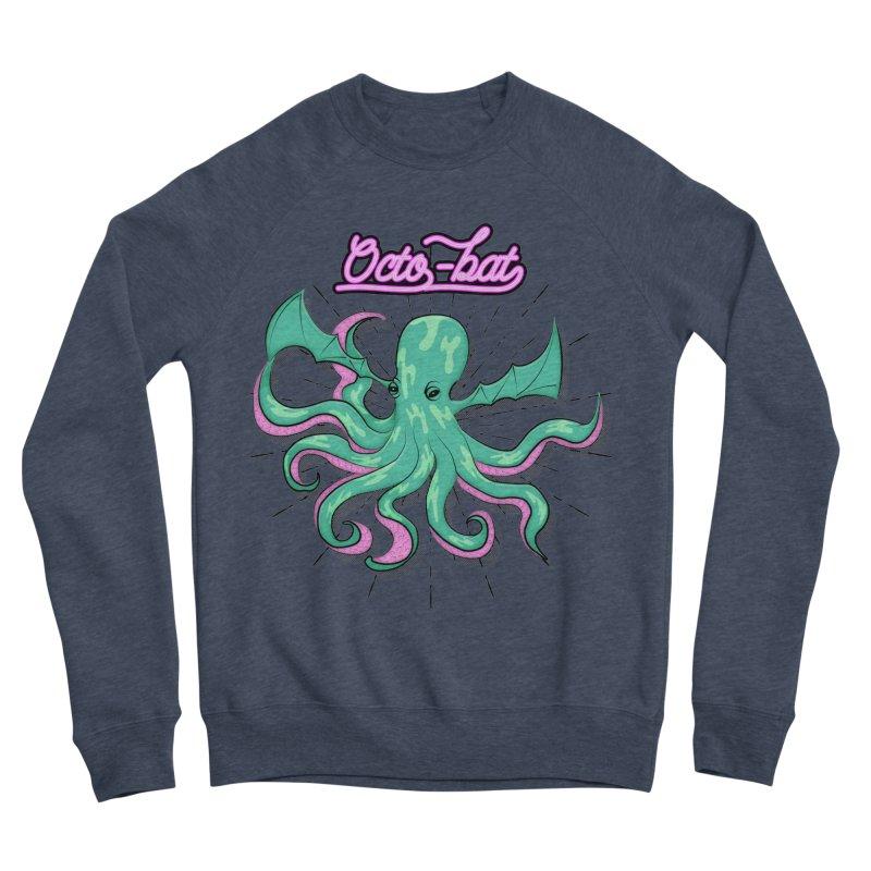 Octobat Women's Sponge Fleece Sweatshirt by Moon Bear Design Studio's Artist Shop