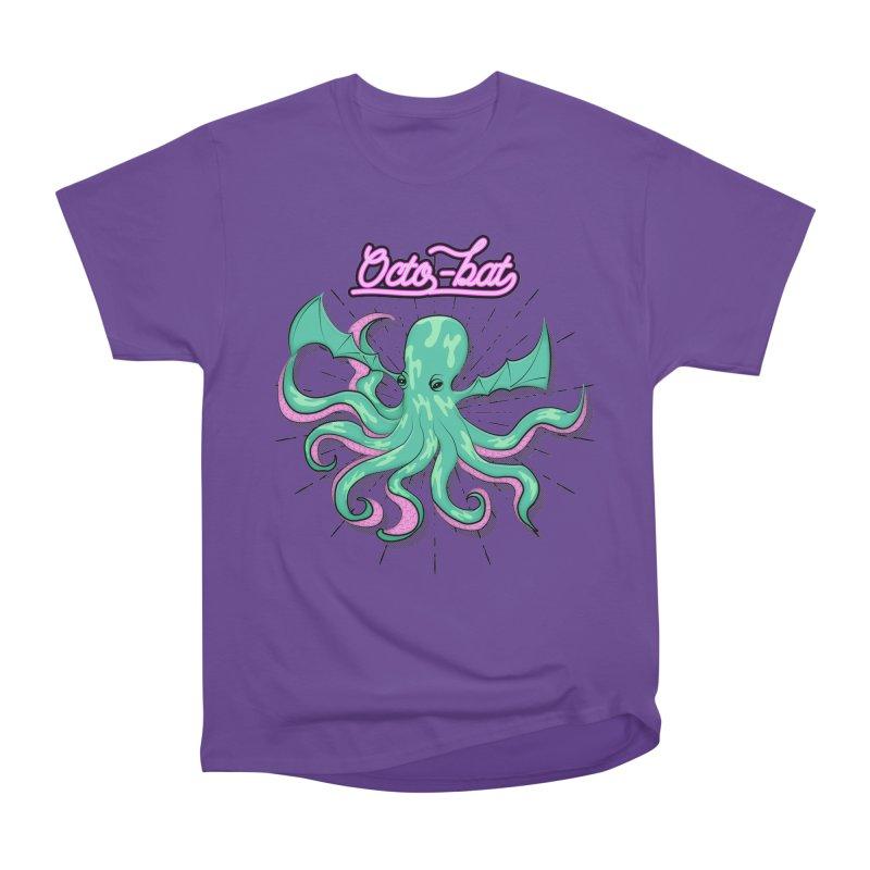 Octobat Men's Heavyweight T-Shirt by Moon Bear Design Studio's Artist Shop