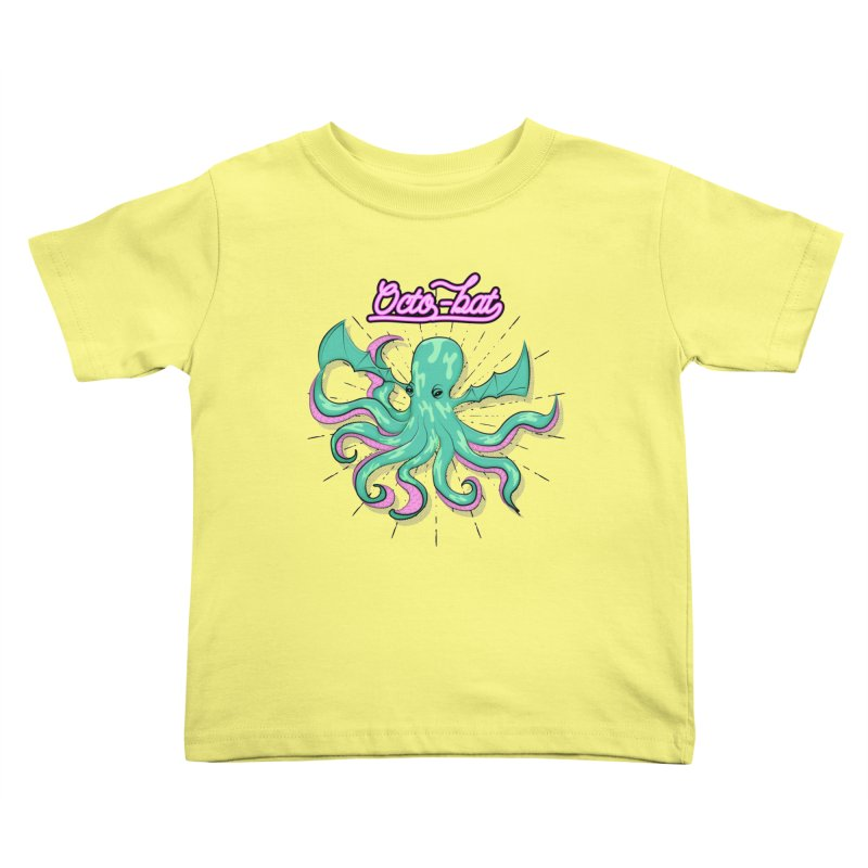 Octobat Kids Toddler T-Shirt by Moon Bear Design Studio's Artist Shop