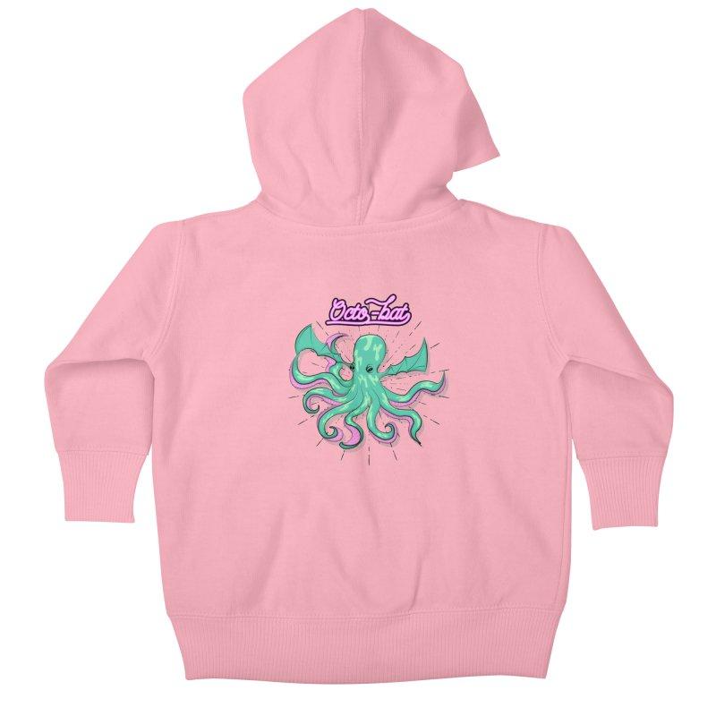 Octobat Kids Baby Zip-Up Hoody by Moon Bear Design Studio's Artist Shop