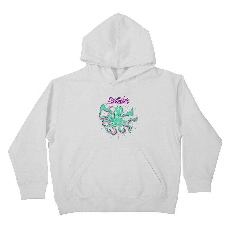 Octobat Kids Pullover Hoody by Moon Bear Design Studio's Artist Shop
