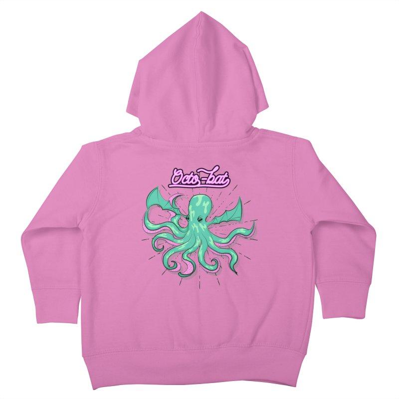 Octobat Kids Toddler Zip-Up Hoody by Moon Bear Design Studio's Artist Shop