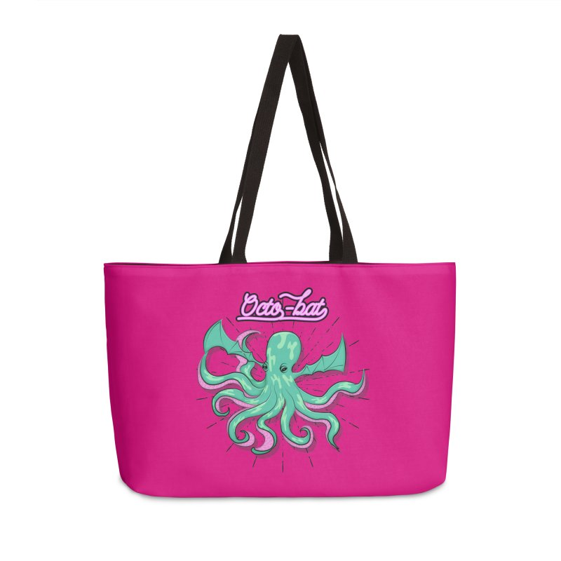Octobat Accessories Weekender Bag Bag by Moon Bear Design Studio's Artist Shop