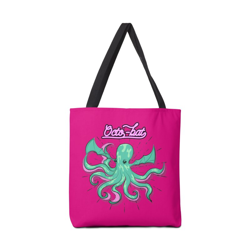 Octobat Accessories Tote Bag Bag by Moon Bear Design Studio's Artist Shop