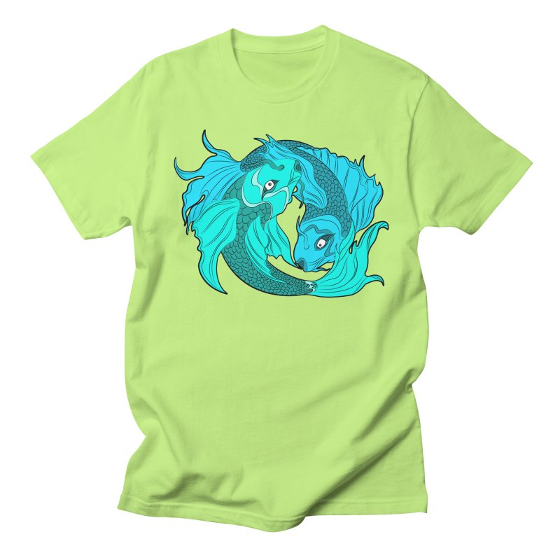 Coy Fish Love Women's Regular Unisex T-Shirt by Moon Bear Design Studio's Artist Shop
