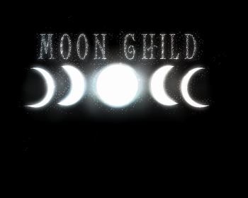 Moon Child Pagan Logo