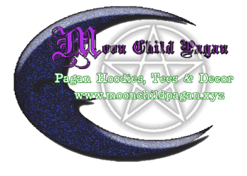 Moon Child Pagan Logo