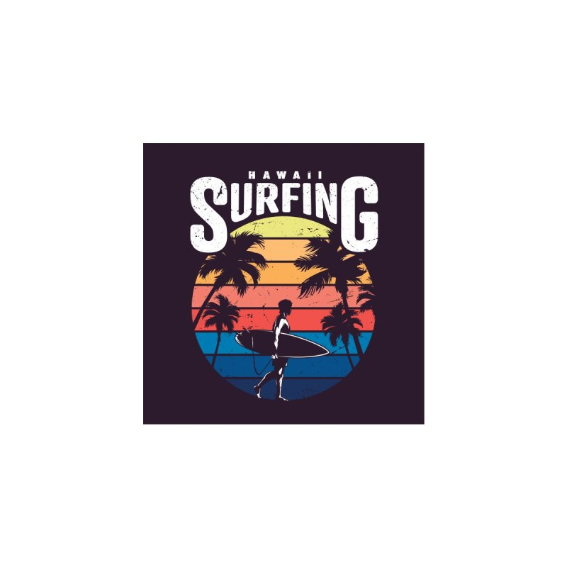 HAWAII SURFING Men's T-Shirt by moondesign1's Artist Shop