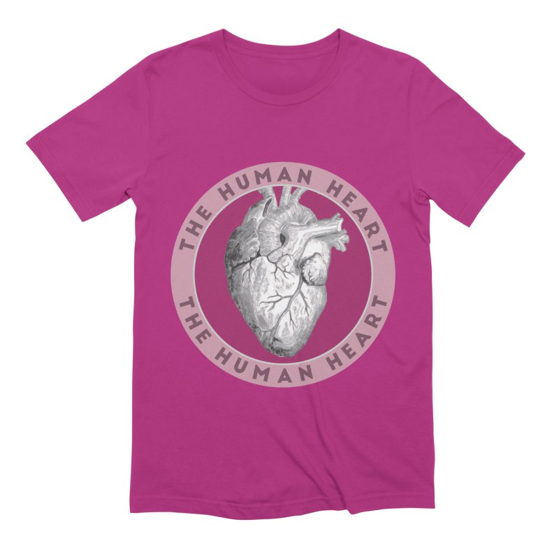 The Human Heart Men's Extra Soft T-Shirt by Moon Joggers's Artist Shop