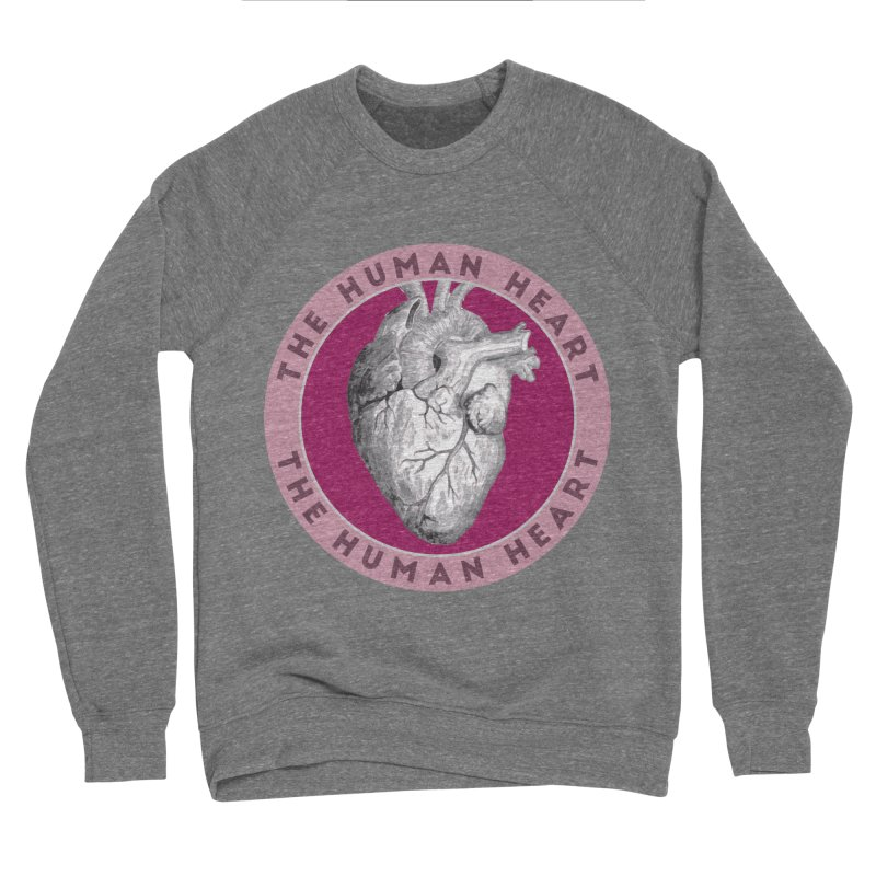 The Human Heart Men's Sponge Fleece Sweatshirt by Moon Joggers's Artist Shop