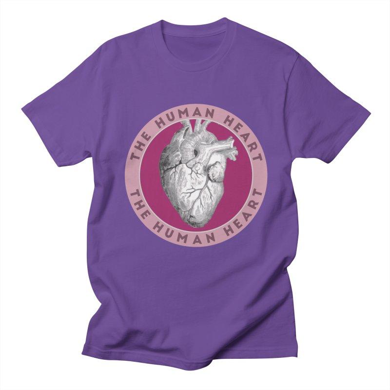 The Human Heart Women's Regular Unisex T-Shirt by Moon Joggers's Artist Shop