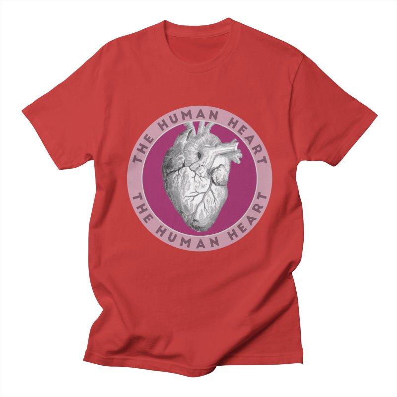 The Human Heart Men's Regular T-Shirt by Moon Joggers's Artist Shop