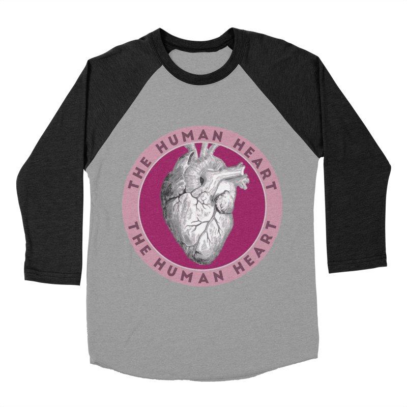 The Human Heart Women's Baseball Triblend Longsleeve T-Shirt by Moon Joggers's Artist Shop