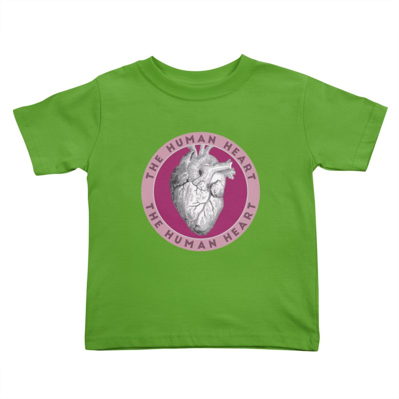 The Human Heart Kids Toddler T-Shirt by Moon Joggers's Artist Shop