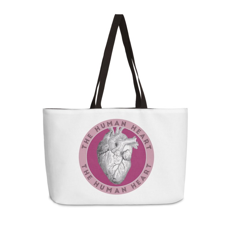 The Human Heart Accessories Weekender Bag Bag by Moon Joggers's Artist Shop