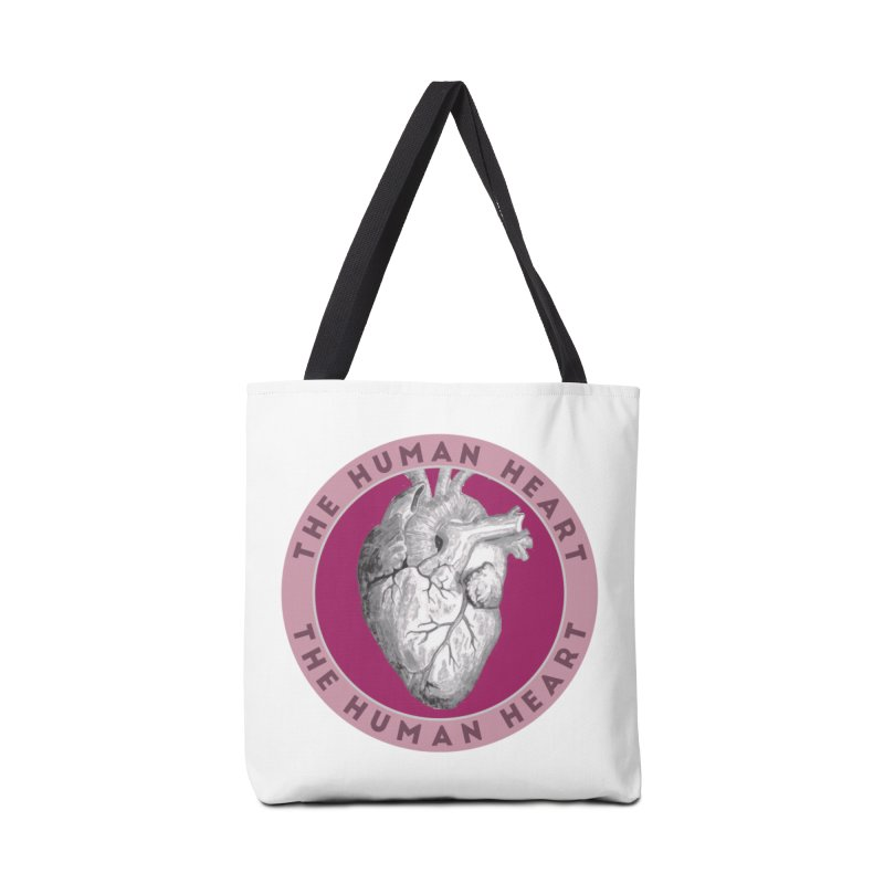 The Human Heart Accessories Tote Bag Bag by Moon Joggers's Artist Shop