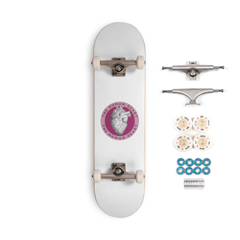 The Human Heart Accessories Complete - Premium Skateboard by Moon Joggers's Artist Shop