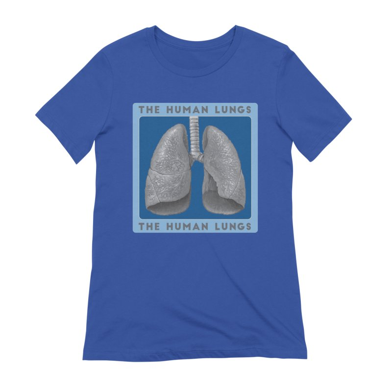 The Human Lungs Women's Extra Soft T-Shirt by Moon Joggers's Artist Shop