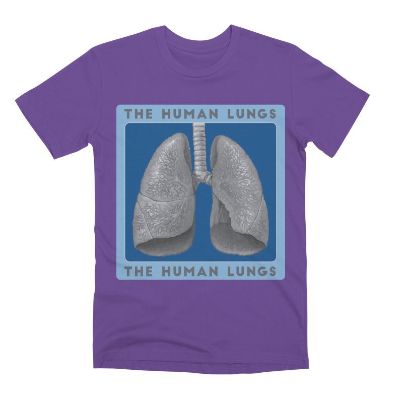 The Human Lungs Men's Premium T-Shirt by Moon Joggers's Artist Shop