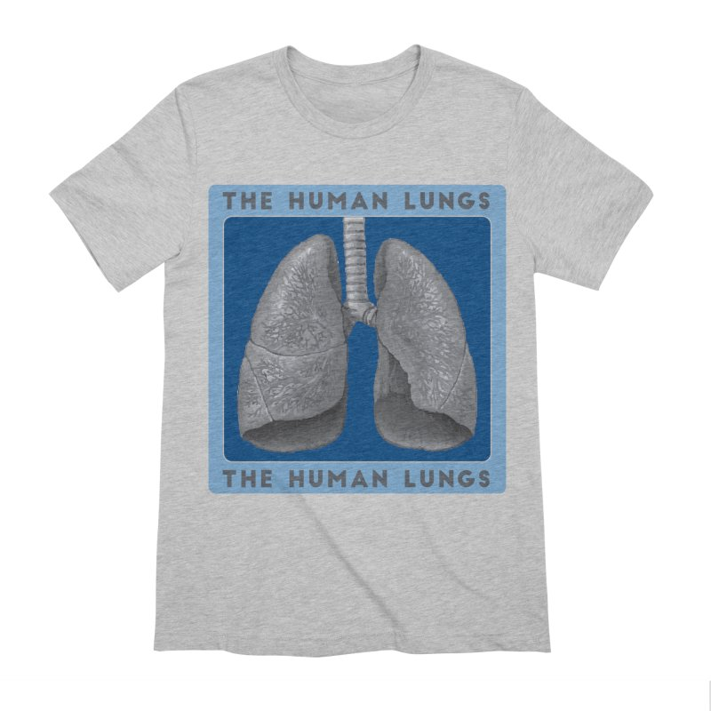 The Human Lungs Men's Extra Soft T-Shirt by Moon Joggers's Artist Shop