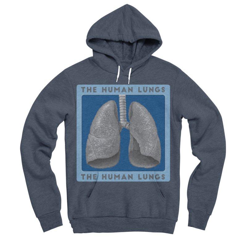The Human Lungs Women's Sponge Fleece Pullover Hoody by Moon Joggers's Artist Shop