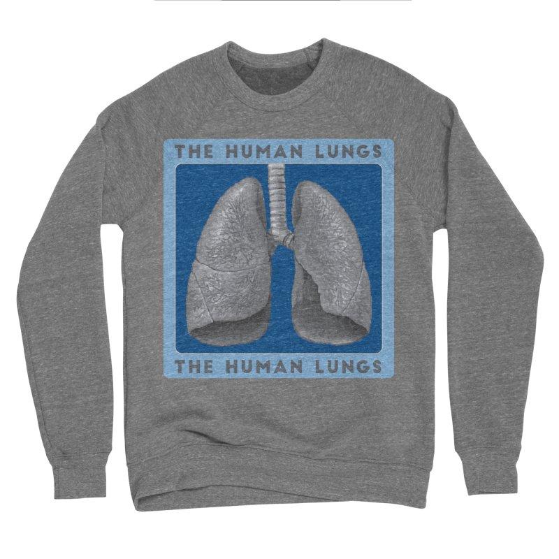 The Human Lungs Men's Sponge Fleece Sweatshirt by Moon Joggers's Artist Shop