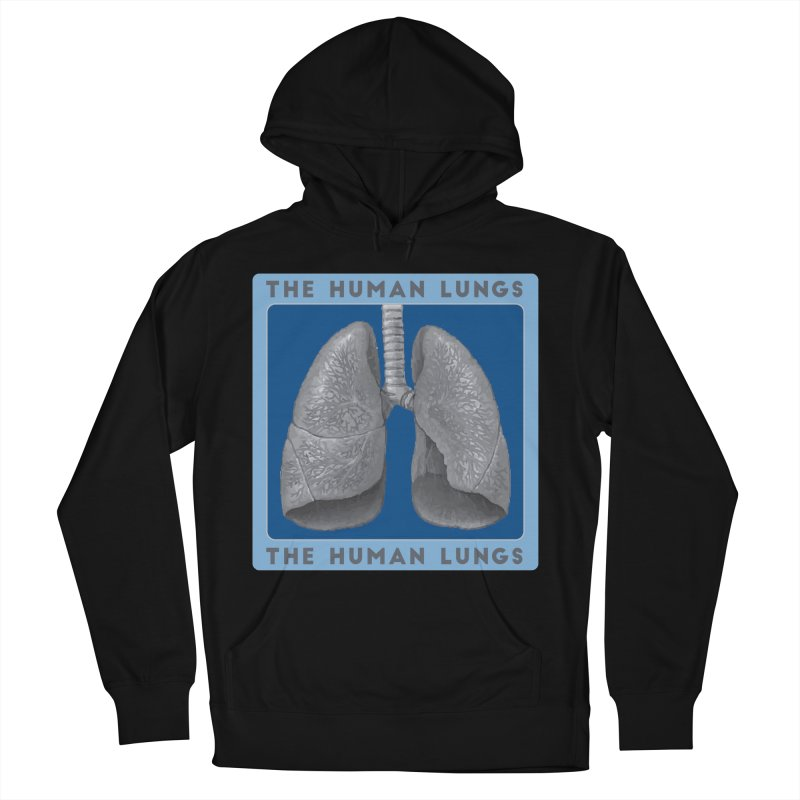 The Human Lungs Women's French Terry Pullover Hoody by Moon Joggers's Artist Shop