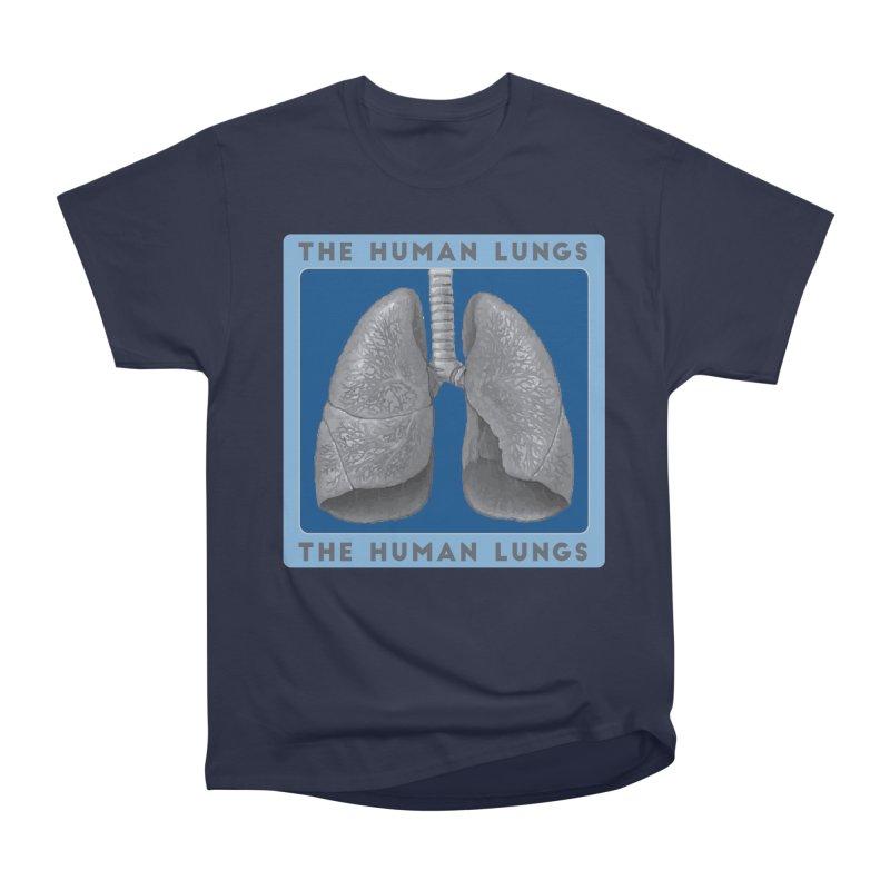 The Human Lungs Men's Heavyweight T-Shirt by Moon Joggers's Artist Shop