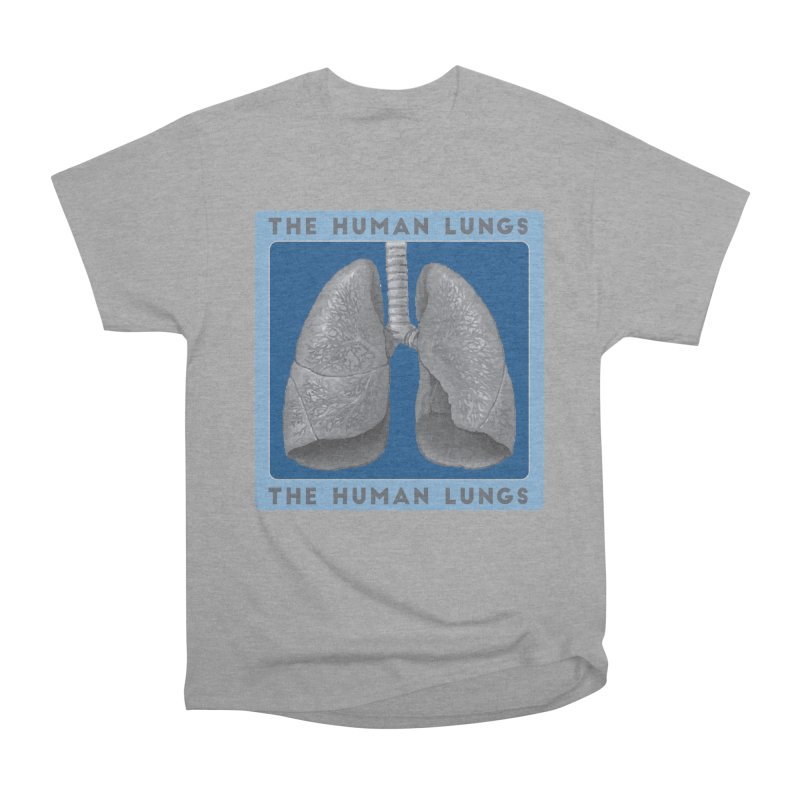 The Human Lungs Men's Heavyweight T-Shirt by Moon Joggers's Artist Shop
