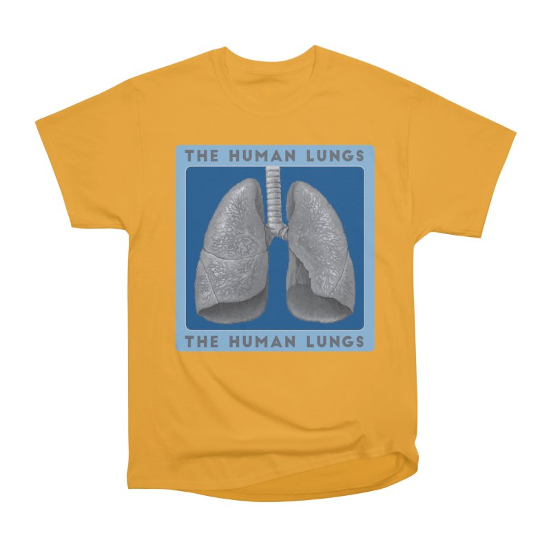 The Human Lungs Women's Heavyweight Unisex T-Shirt by Moon Joggers's Artist Shop