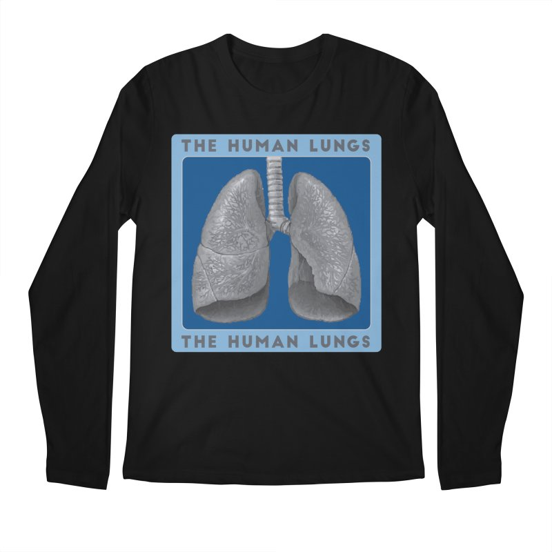 The Human Lungs Men's Regular Longsleeve T-Shirt by Moon Joggers's Artist Shop