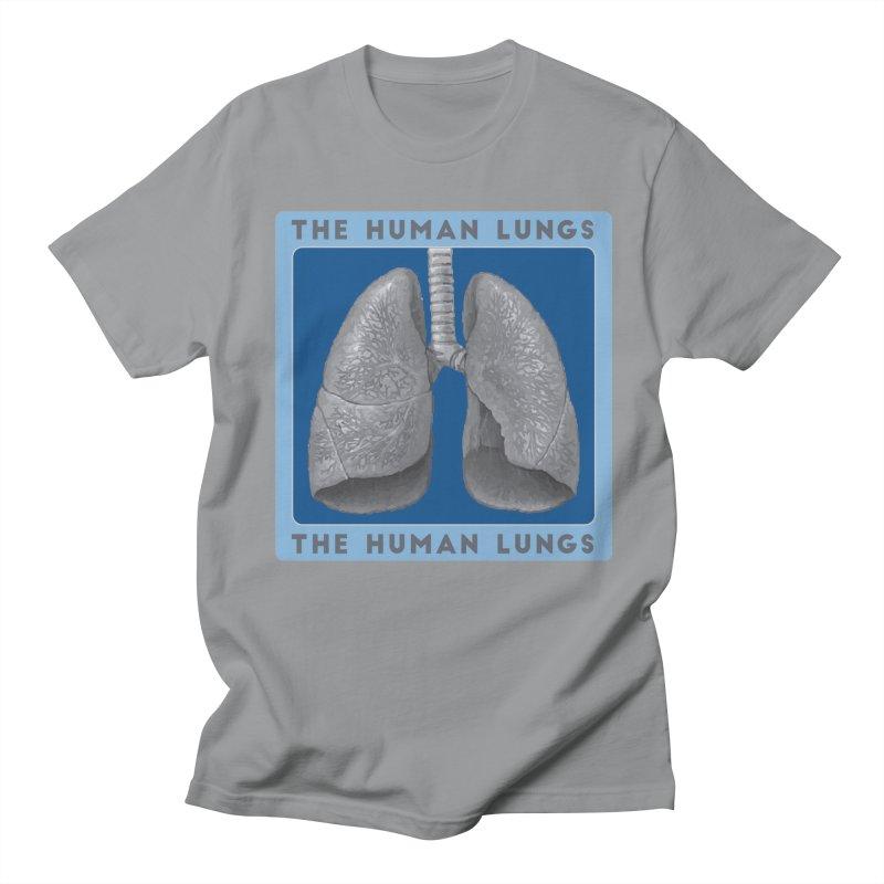 The Human Lungs Men's Regular T-Shirt by Moon Joggers's Artist Shop