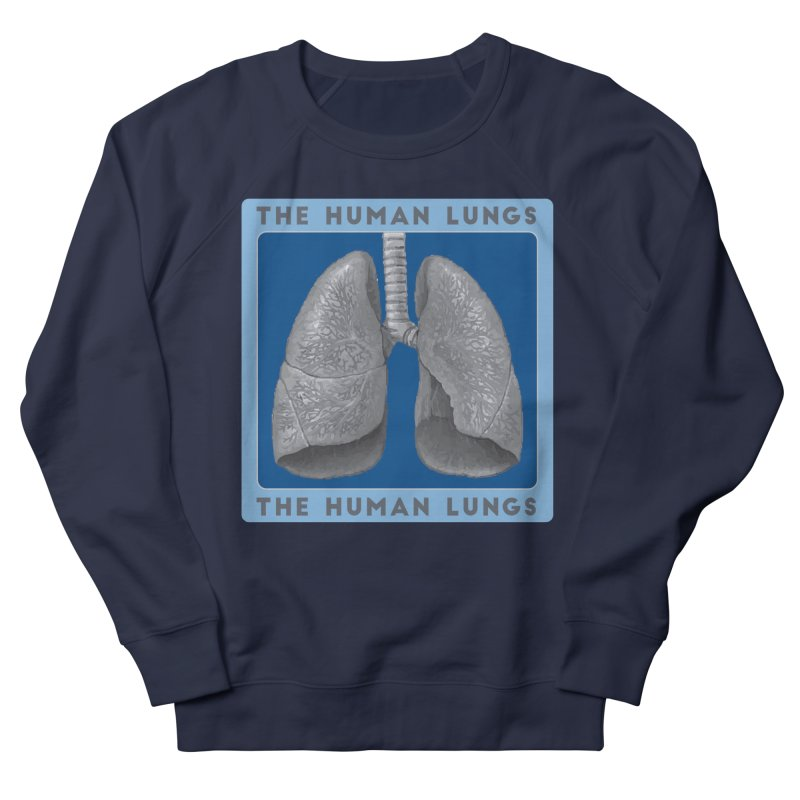 The Human Lungs Women's French Terry Sweatshirt by Moon Joggers's Artist Shop
