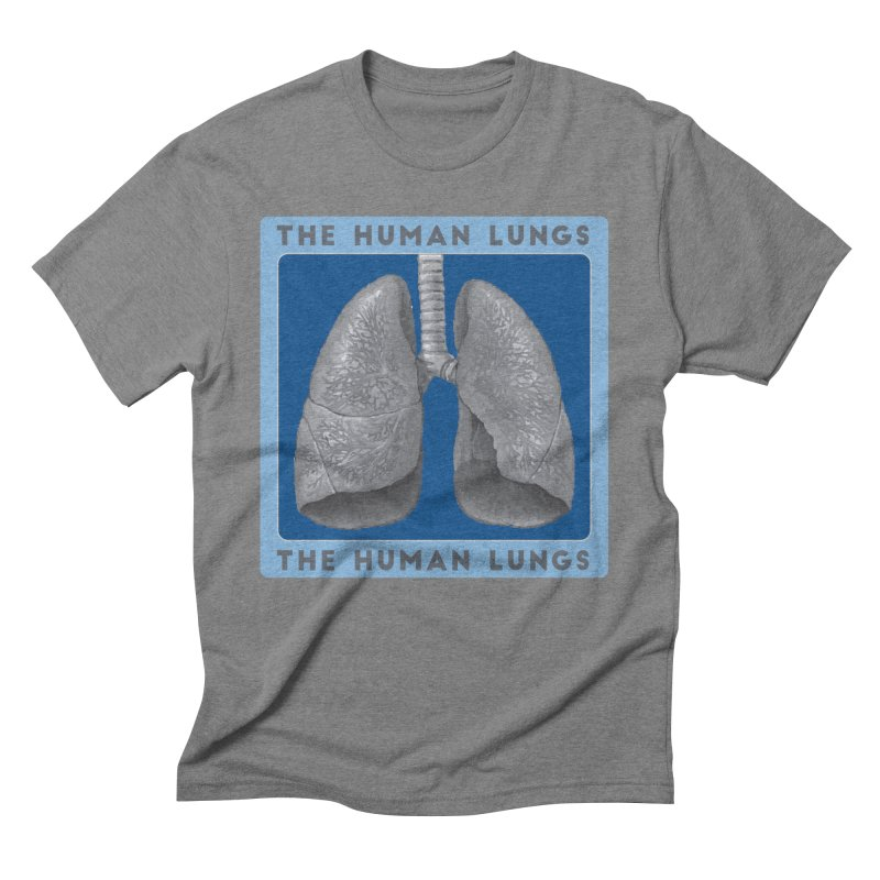 The Human Lungs Men's Triblend T-Shirt by Moon Joggers's Artist Shop