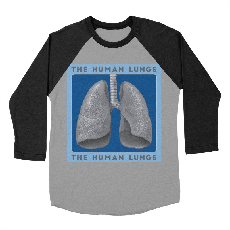 The Human Lungs Men's Baseball Triblend Longsleeve T-Shirt by Moon Joggers's Artist Shop