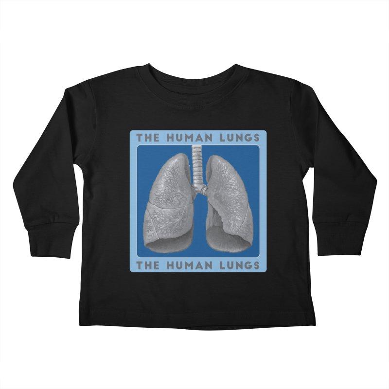 The Human Lungs Kids Toddler Longsleeve T-Shirt by Moon Joggers's Artist Shop