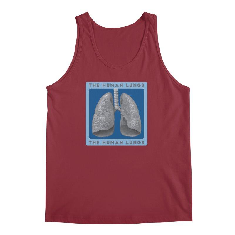 The Human Lungs Men's Regular Tank by Moon Joggers's Artist Shop