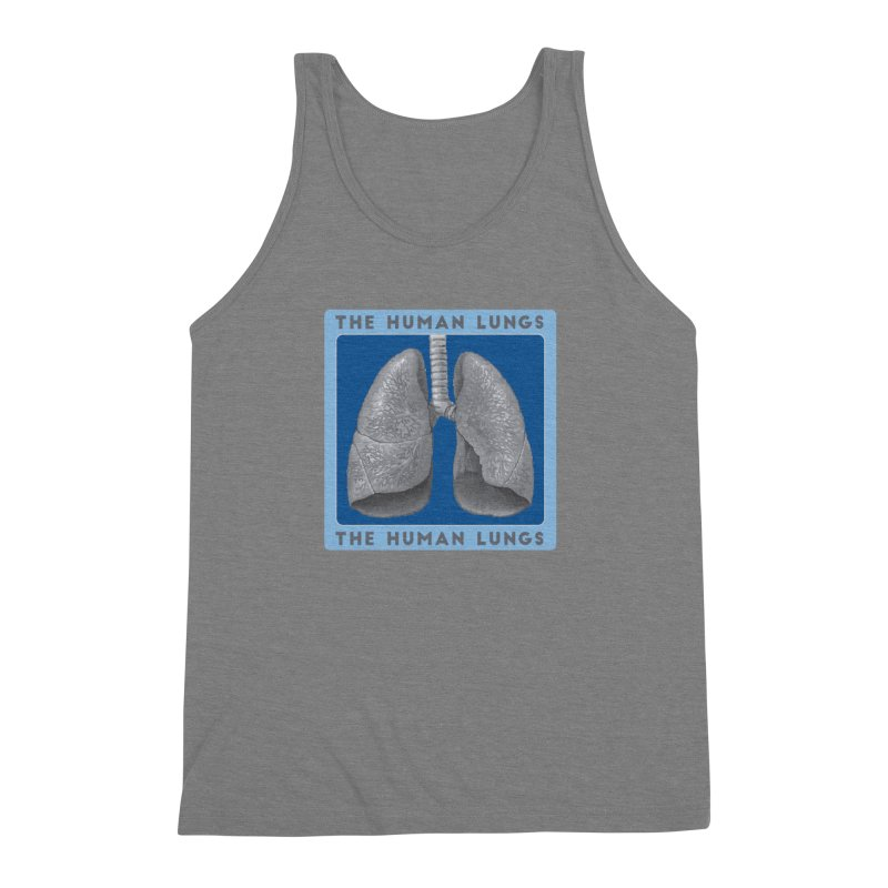 The Human Lungs Men's Triblend Tank by Moon Joggers's Artist Shop