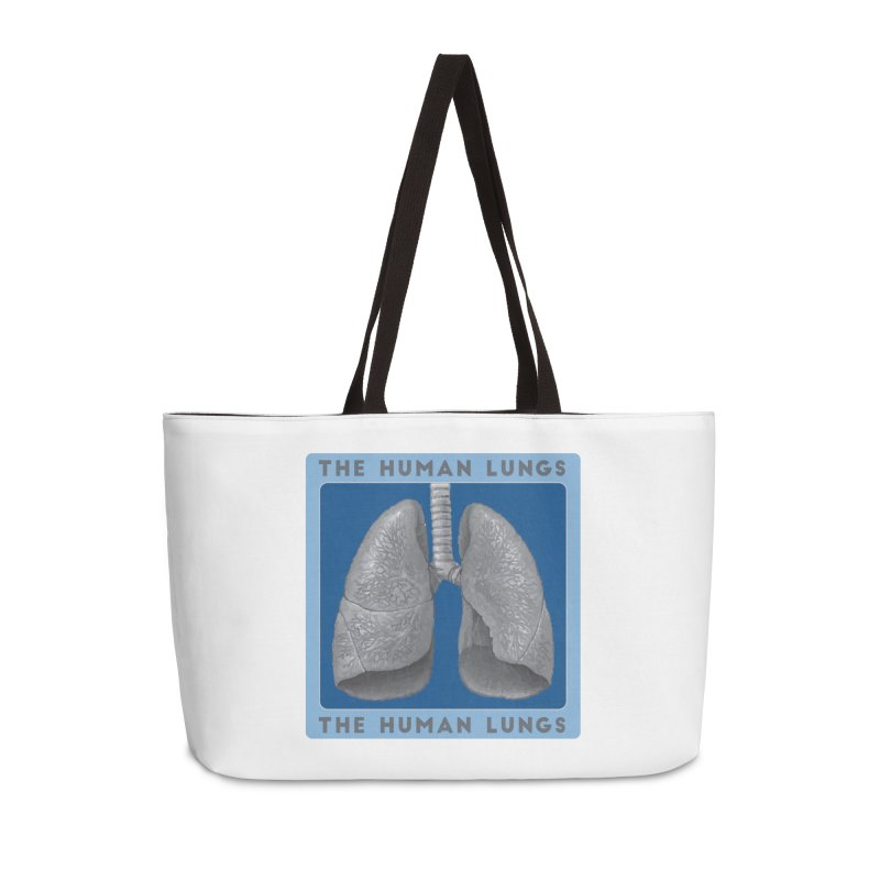 The Human Lungs Accessories Weekender Bag Bag by Moon Joggers's Artist Shop