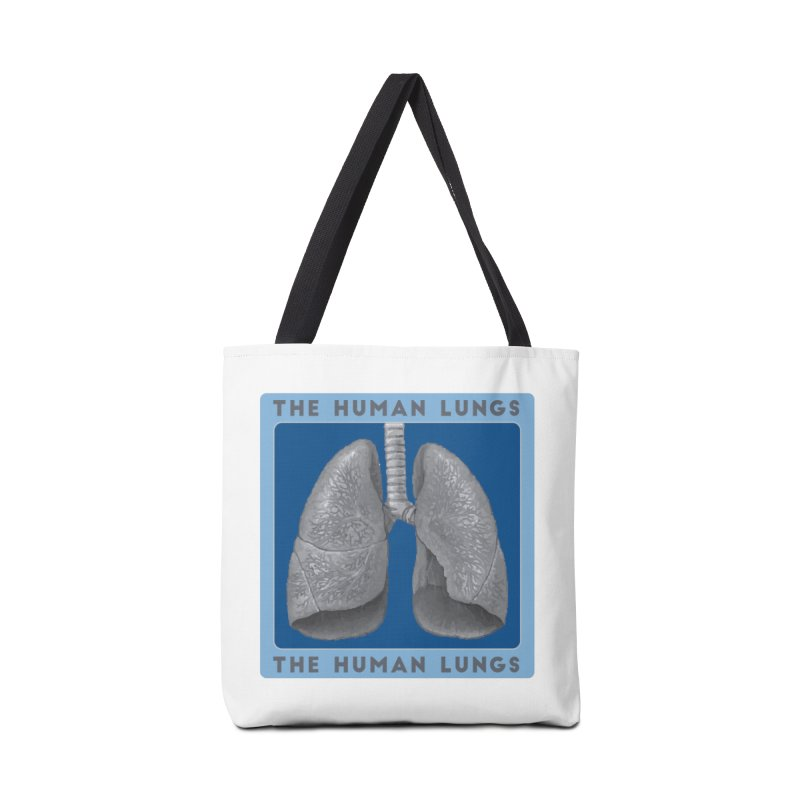 The Human Lungs Accessories Tote Bag Bag by Moon Joggers's Artist Shop