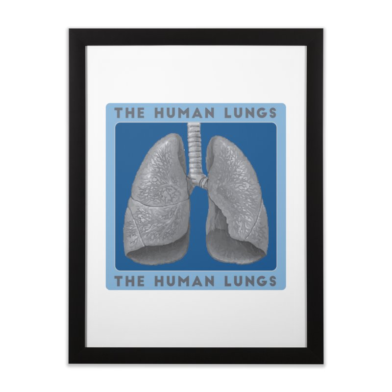 The Human Lungs Home Framed Fine Art Print by Moon Joggers's Artist Shop