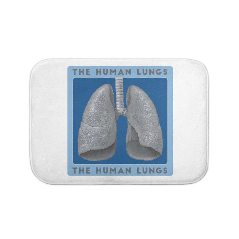 The Human Lungs Home Bath Mat by Moon Joggers's Artist Shop