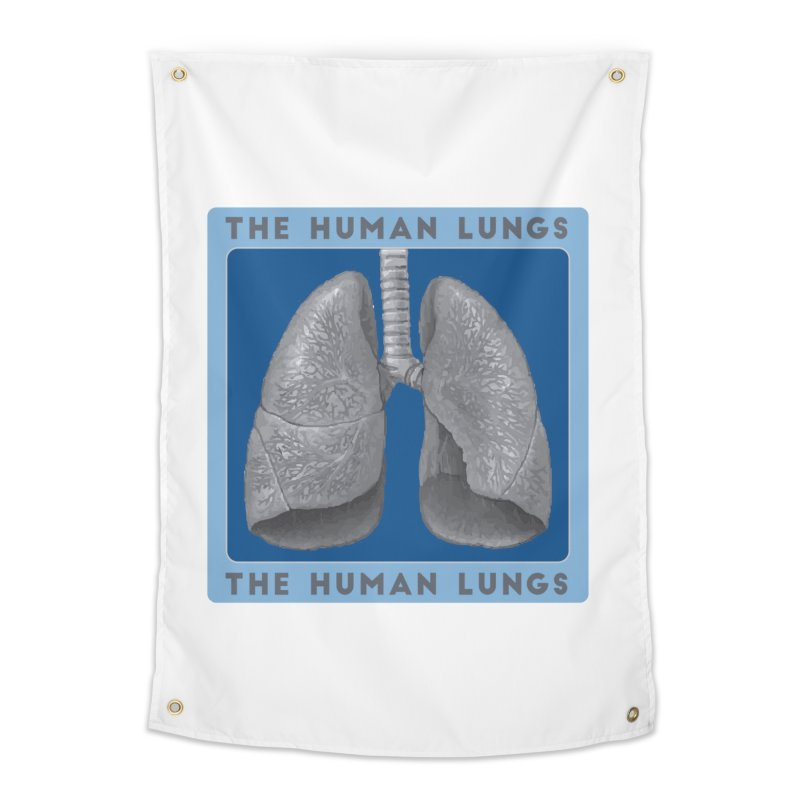 The Human Lungs Home Tapestry by Moon Joggers's Artist Shop