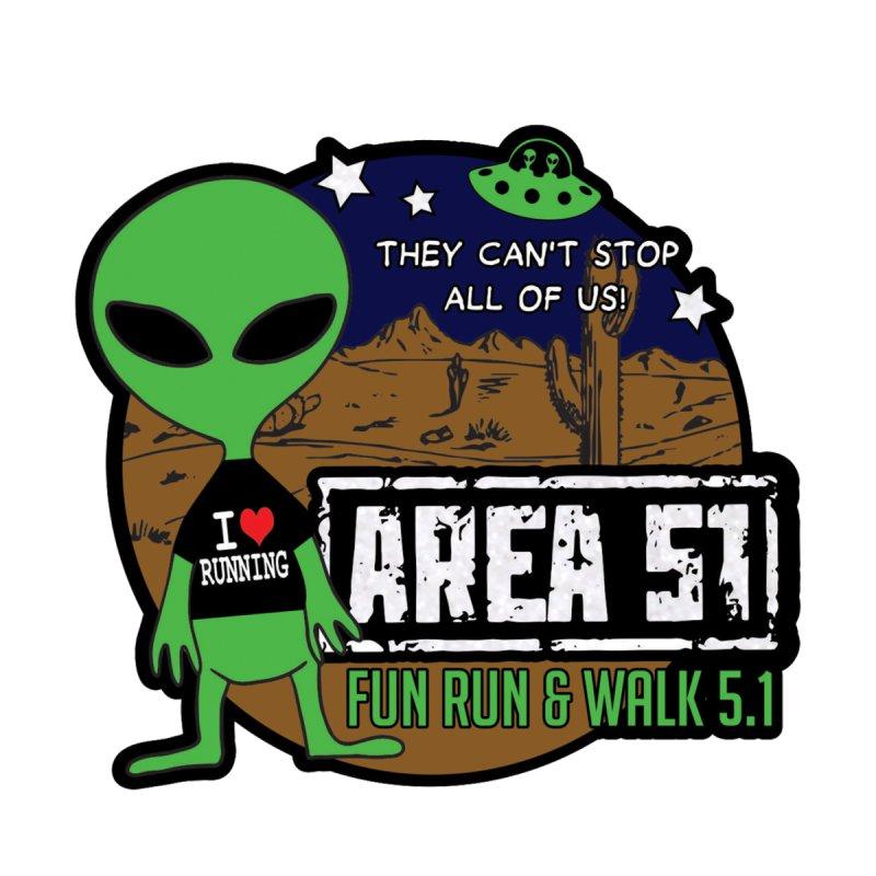 Area 51 5.1K Fun Run & Walk by Moon Joggers's Artist Shop