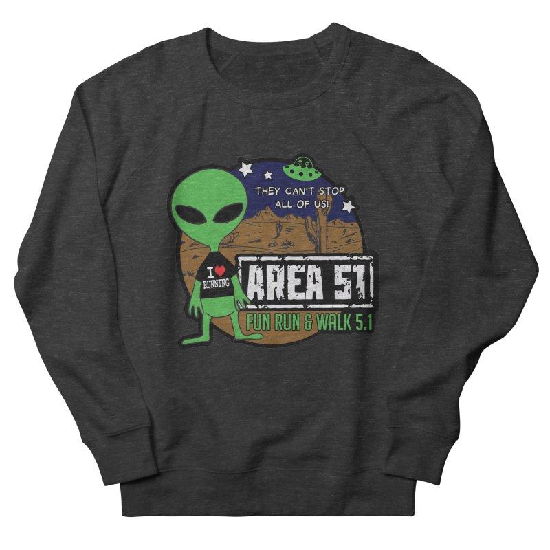 Area 51 5.1K Fun Run & Walk Men's Sweatshirt by Moon Joggers's Artist Shop
