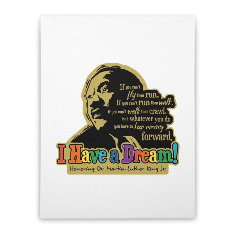 I Have a Dream Home Stretched Canvas by Moon Joggers's Artist Shop