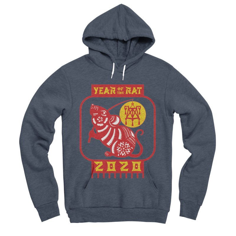 Chinese New Year - Year of the Rat Women's Sponge Fleece Pullover Hoody by Moon Joggers's Artist Shop