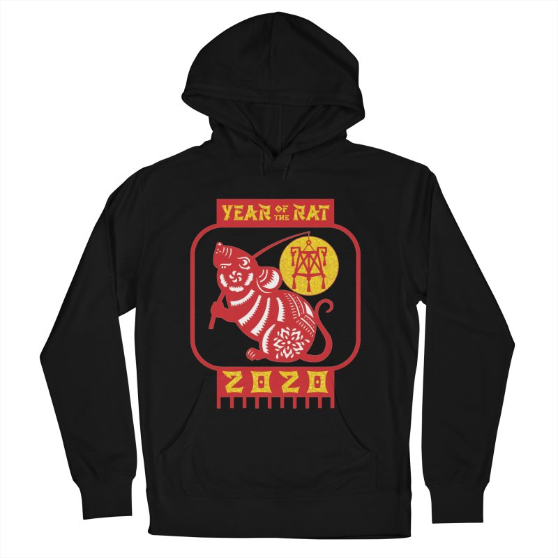 Chinese New Year - Year of the Rat Women's French Terry Pullover Hoody by Moon Joggers's Artist Shop